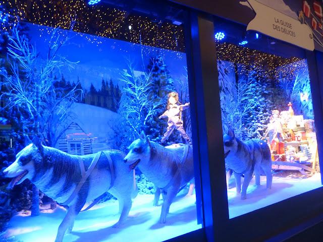 vitrines de Noël Paris 2017