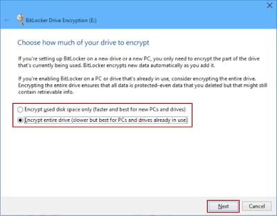 Kunci Partisi Disk Komputer Windows dengan Menggunakan BitLocker