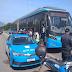 Passageiro se revolta com demora para sair da estação, toma direção de ônibus e é preso