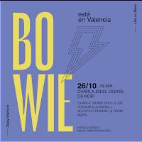Una charla sobre Bowie en el Siglo XXI, primera de las paradas de Bowie Tribute Spain