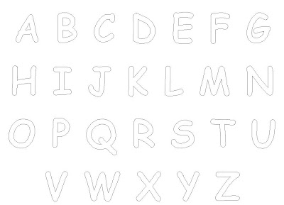 Letter Coloring Pages For Kids A-Z