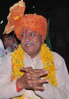 सासंद नन्दकुमारसिंह चौहान का जन्मस्थल शाहपुर के मिट्टी में ही कल होंगा अंतिम संस्कार