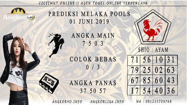 PREDIKSI MELAKA POOLS 01 JUNI 2019