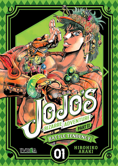 JoJo's Bizarre Adventure Part II: Battle Tendency vol.1