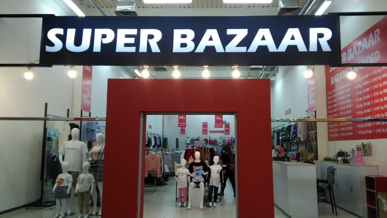 super bazaar factory outlet jakarta
