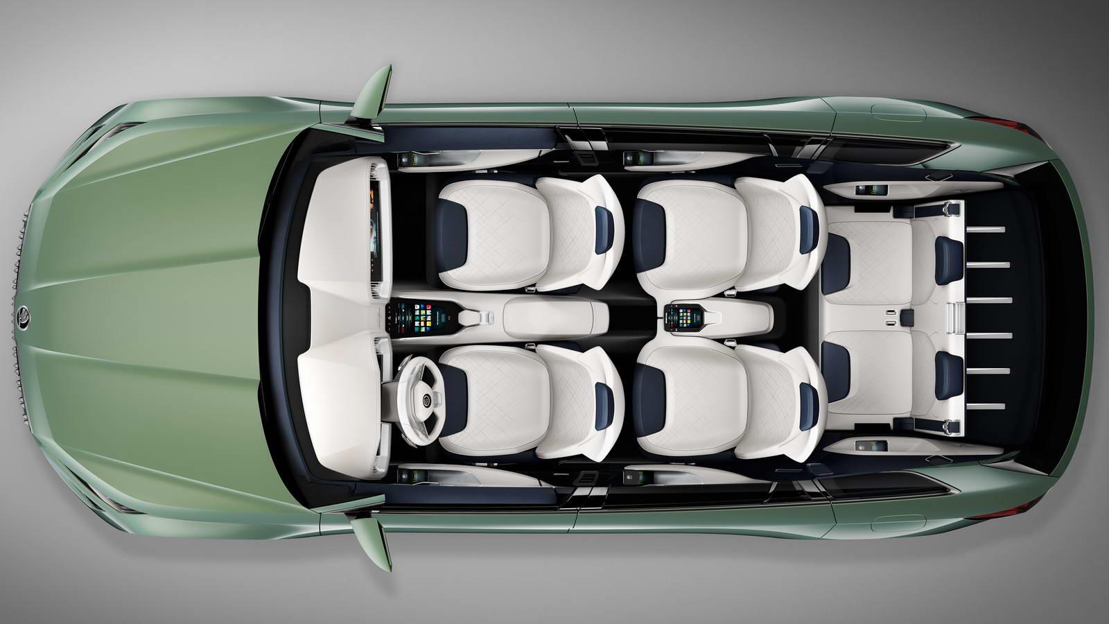 Skoda Kodiak Suv Might Get Vrs Coupe Versions Carscoops Com