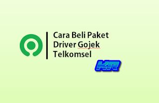 Cara Beli Paket Driver Gojek Telkomsel:Kouta 15GB & Telepon Sepuasnya