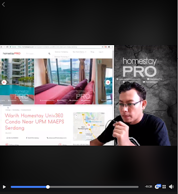 Warih-Homestay-FB-Live-Video-HomestayPro