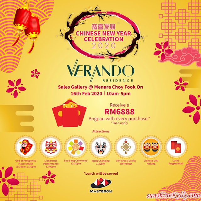 Verando Residence, PJ South Sentral, Chinese New Year Celebration, Masteron Properties, Property, Lifestyle