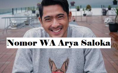 nomor wa arya saloka