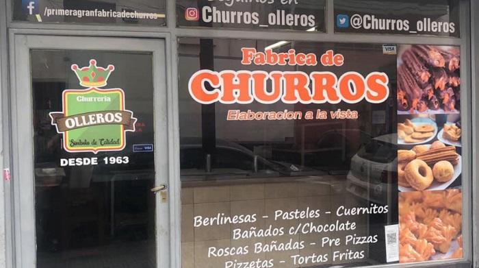 Churros Olleros un clásico de Chacarita