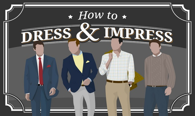How To Dress and Impress #infographic