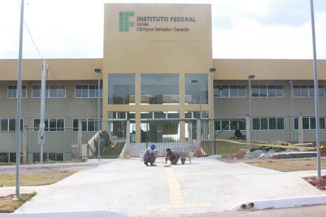 Senador Canedo: Visita técnica define metas para agilizar obras da sede do IFG