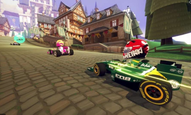 F1 Race Stars Game Ringan
