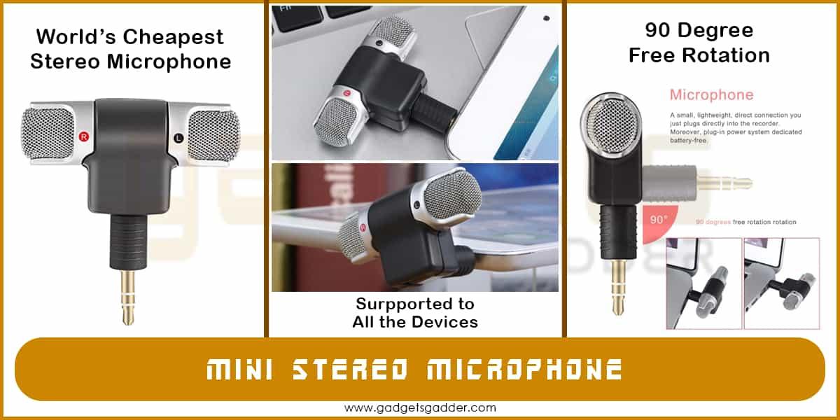 mini stereo mic