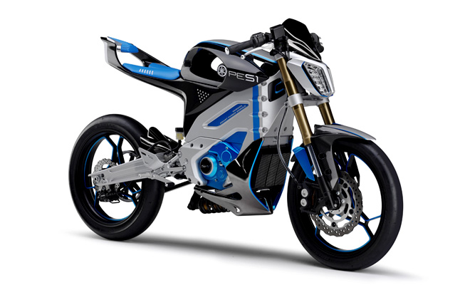 Yamaha PES1 electric motorcycle concept