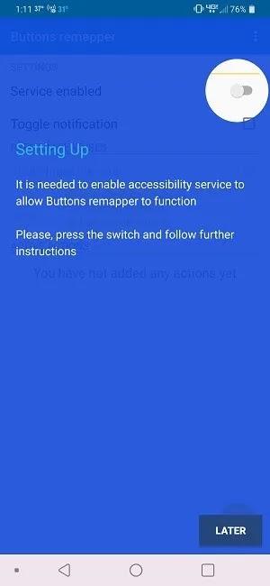 كيفية حظر أزرار الصوت على الوصول إلى Remapper لأزرار Android