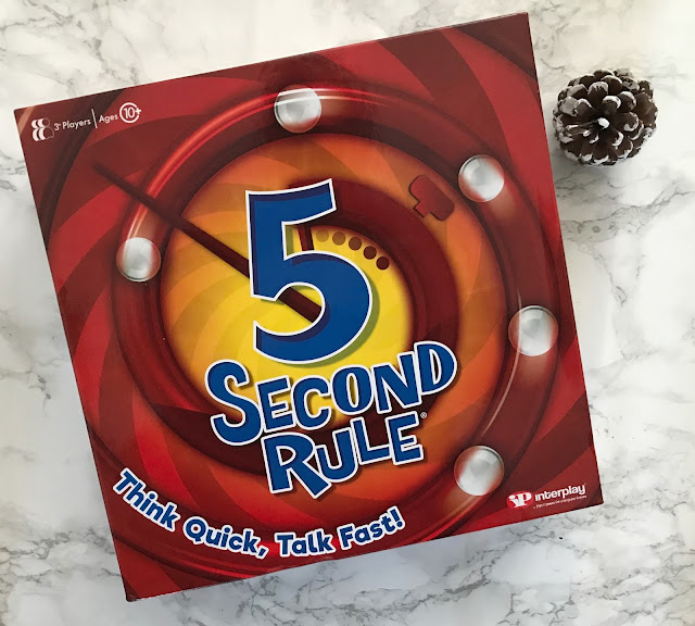 5 second rule board game box