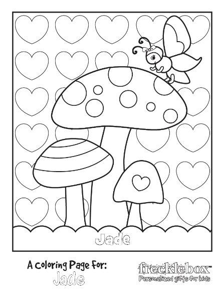My Kind Of Introduction: Free PERSONALIZED Coloring Pages