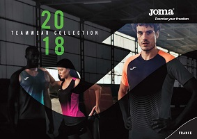 Catalogue Joma 2018