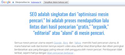 Cara Mengaktifkan Fitur Google Translate Menggunakan Ekstensi Chrome