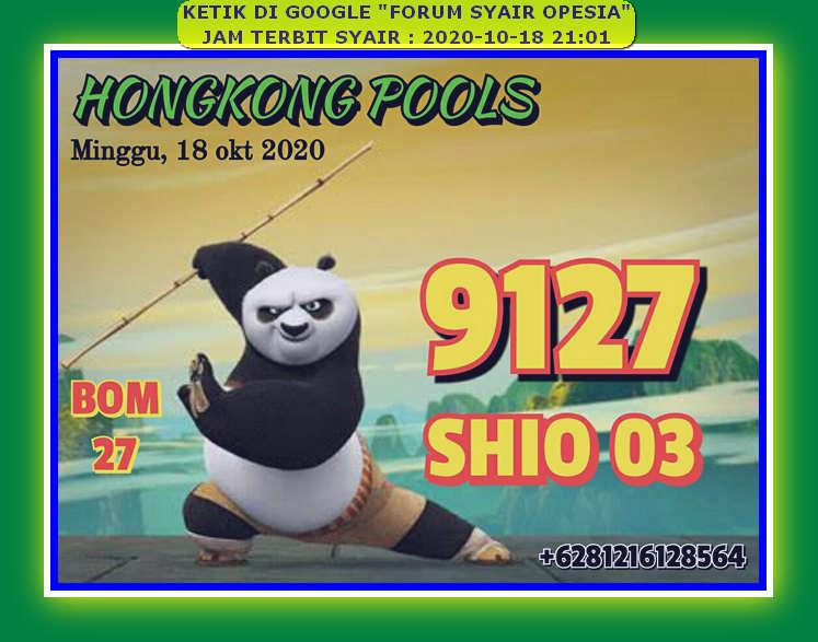 Kode syair Hongkong Minggu 18 Oktober 2020 48