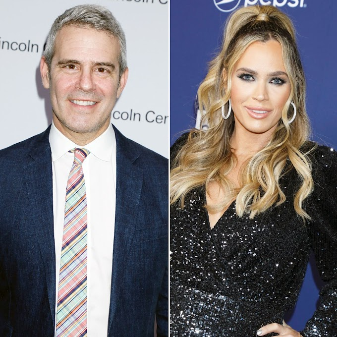 Andy Cohen Says Teddi Mellencamp Arroyave's 'RHOBH' Exit Had 'Nothing To Do' With The Controversy Surrounding Her 'All In' Weight Loss Program!
