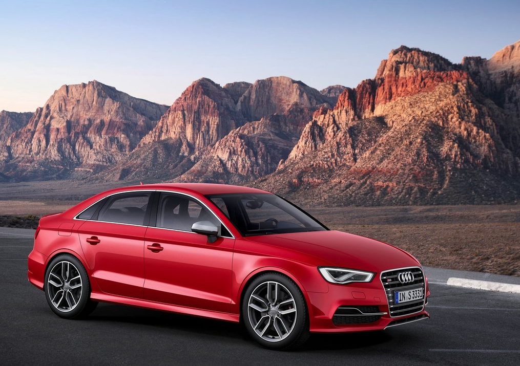 Audi S3 red