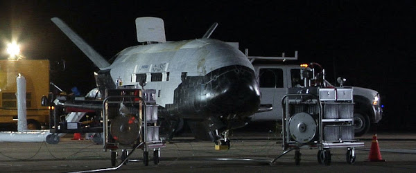 SCI-TECH : L'armée américaine crée une unité de «guerre orbitale» (avec vaisseau spatial) Elle sera dotée du très secret X-37B