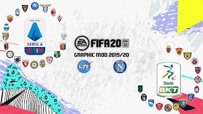FIFA 20 L77&Nevil72 Italian League Graphic MOD
