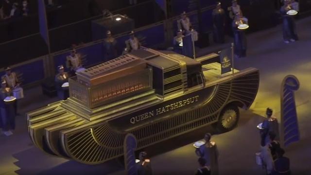 """""""Desfile dorado"""": el impactante traslado de las momias de Egipto"""