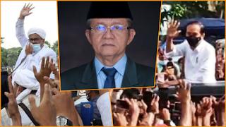 Timbulkan Kerumunan, Waketum MUI: HRS Ditahan, Jokowi juga Harus Ditahan Supaya Keadilan Tegak