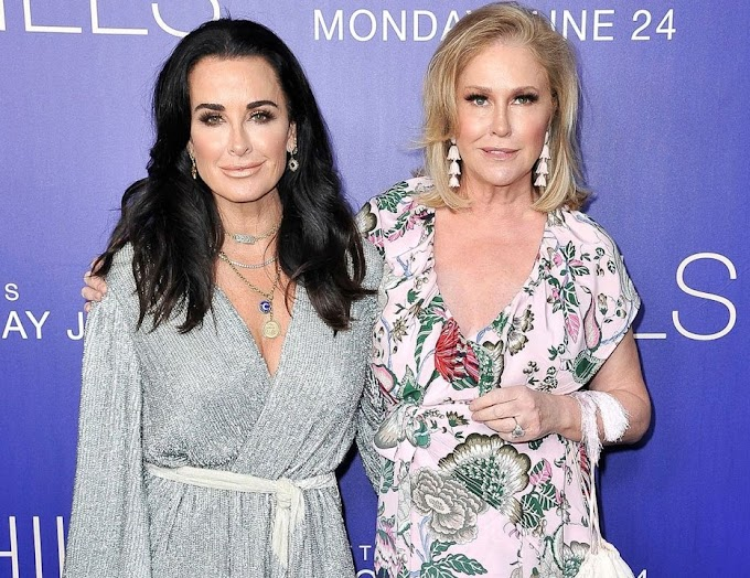 Kyle Richards Reacts To Rumors That Her Sister Kathy Hilton Is Joining The Real Housewives Of Beverly Hills!