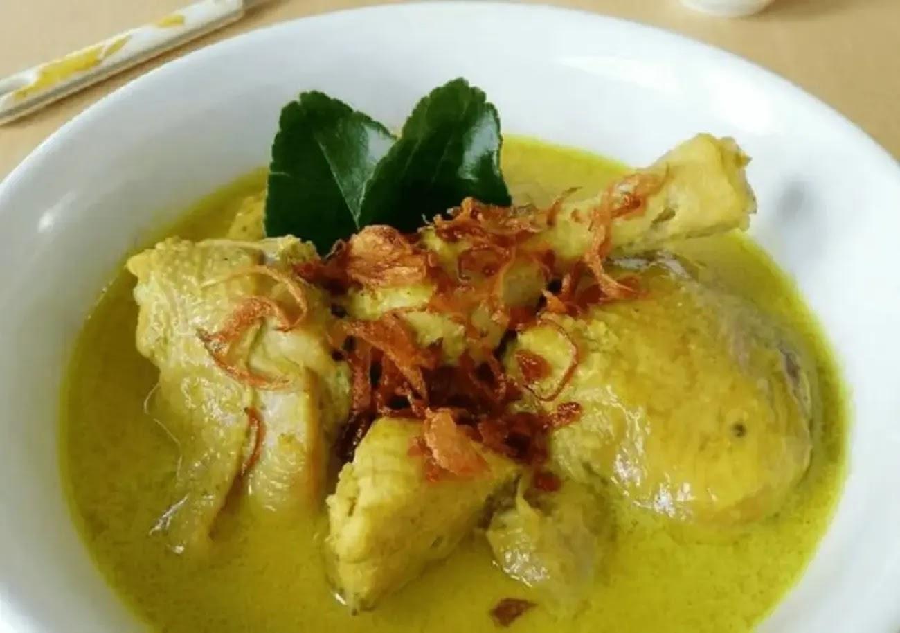 Resep Opo Ayam Kuning, Sajian Tepat Kumpul Keluarga