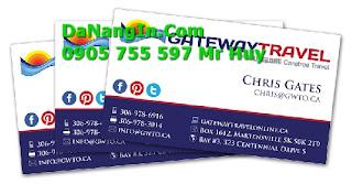 In Card visit lấy nhanh giá rẻ tại đà nẵng 247