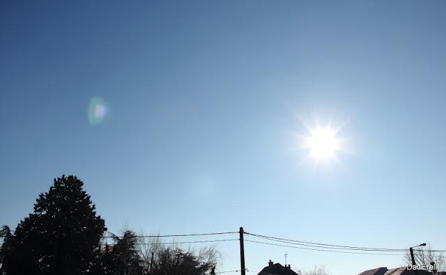 Soleil au zénith en hiver