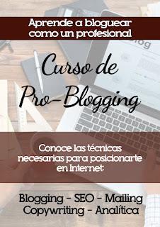 curso blogger profesional