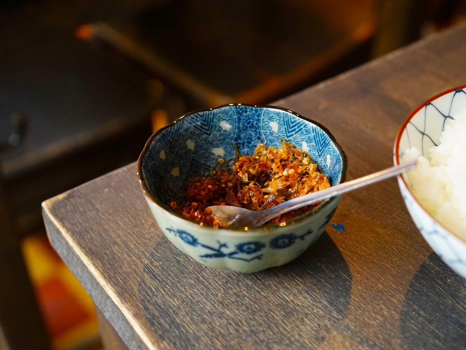 Condiment au poisson séché - Le Chameau Bleu