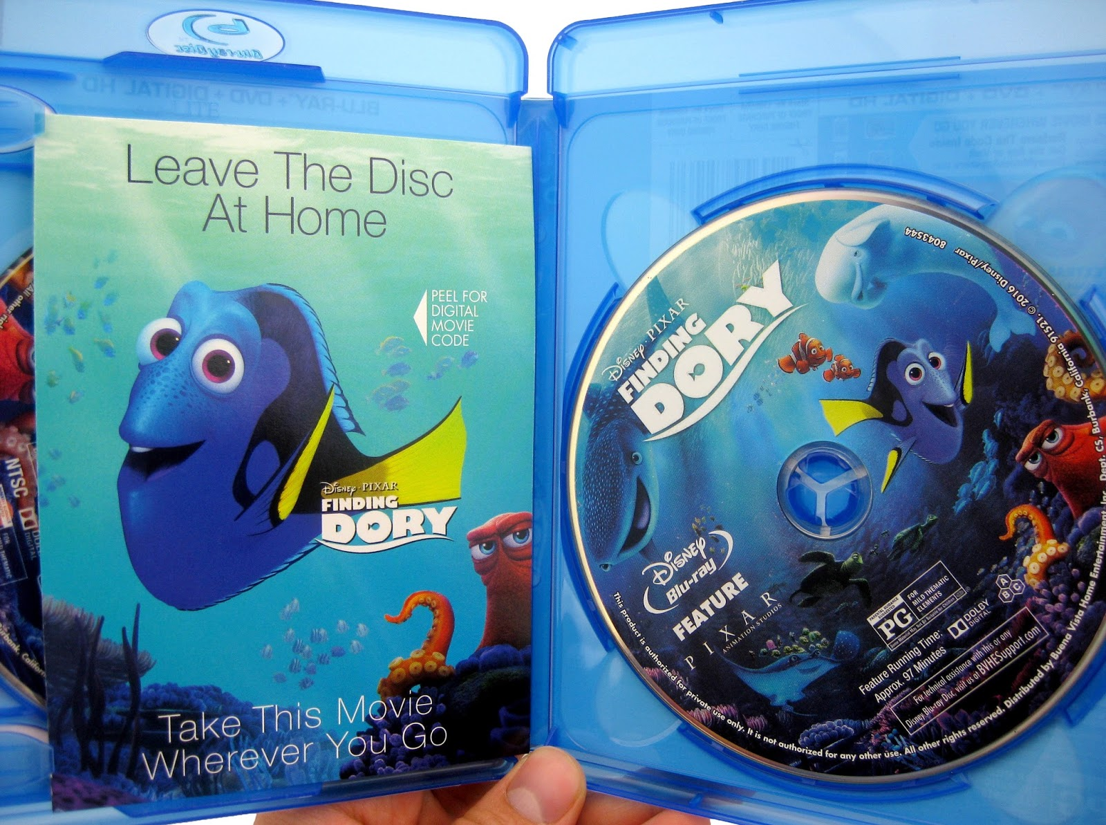 dan the pixar fan my indepth finding dory bluray review