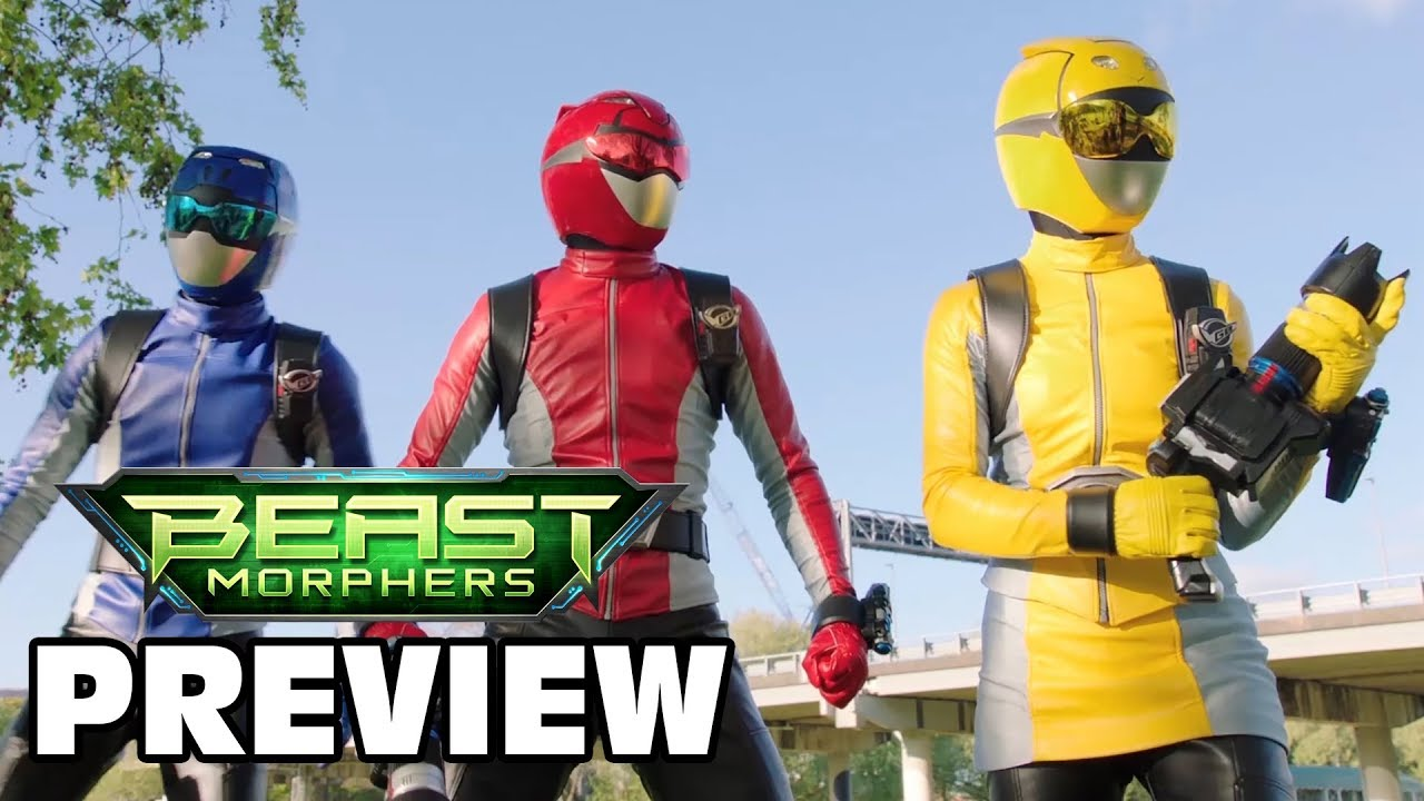 Comic Frontline: Power Rangers Beast Morphers Episode 3
