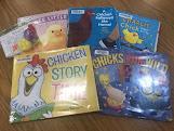 Chicken storytime, toddler storytime