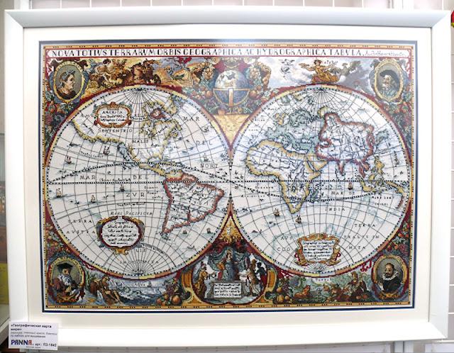 Panna, Карта мира