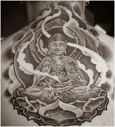 The tattoo world buddha tattoos and it 39 s meanings for Happy buddha tattoo