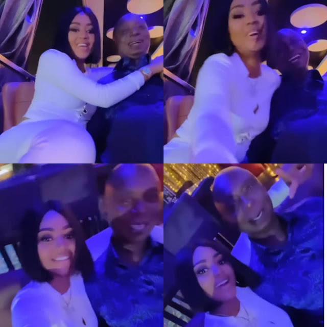 See the lovely moment as Regina Daniels and her Husband enjoying themselves (Video)