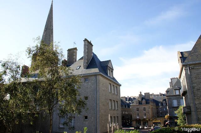 Vista della cittadina intramuros di Saint Malo
