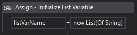 uipath-initialize-list