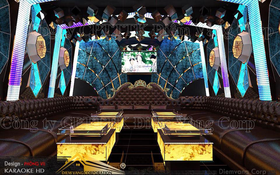 Thiết kế phòng karaoke 3D Ảnh Full chất lượng cao 20
