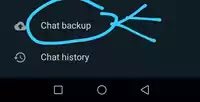 व्हाट्सएप चैट बैकअप कैसे करें?