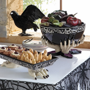 Autumn Lagniappe Halloween Serving Dishes