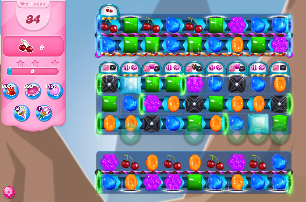 Candy Crush Saga level 9254